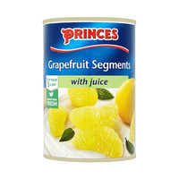 Princes Grapefruit Segments With Juice 411GR