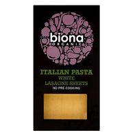 Biona Organic Pasta White Lasagne Sheets 250g