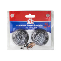 N1 Stainless Steel Scrubber x2