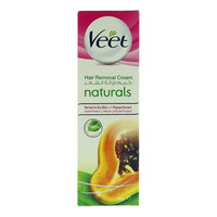 Veet Naturals Normal To Dry Skin With Papaya Extract Hair Removal Cream 100G
