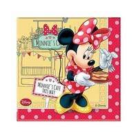 Disney Minnie Mouse Caf� Paper Napkins 20 Sheets