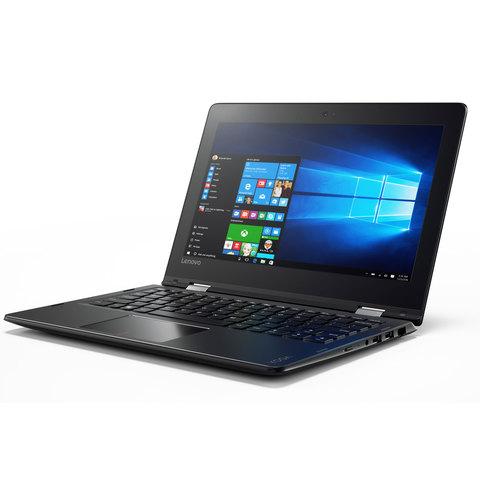 """Lenovo-2-in-1-Yoga-310-N3350-4GB-RAM-64GB-Memory-11""""-Black"""