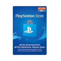 Sony Play station Live Cards Hang 20 USD Prepaid Card