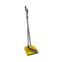 Rozenbal Dustpan And Brush With Long Handle