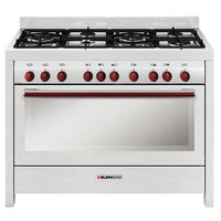 Glemgas 120X60 Cm Gas Cooker MGW626RD