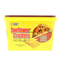 Croley Foods Sunflower Crackers Pizza Flavor 650g