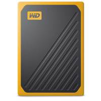 WD SSD 500GB My Passport Go Amber