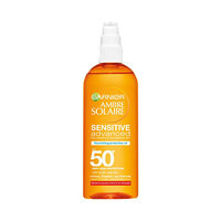 Garnier Ambre Solaire Sensitive Nourishing Protective Oil SPF 50+ 150ML