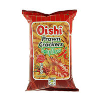 Oishi Spicy Flavor Prawn Crackers 60g