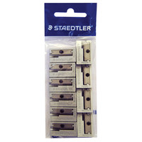 Staedtler Metal Sharpener 1Hole 10Pcs