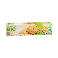 Carrefour Bio Organic Biscuits whole Wheat 170GR