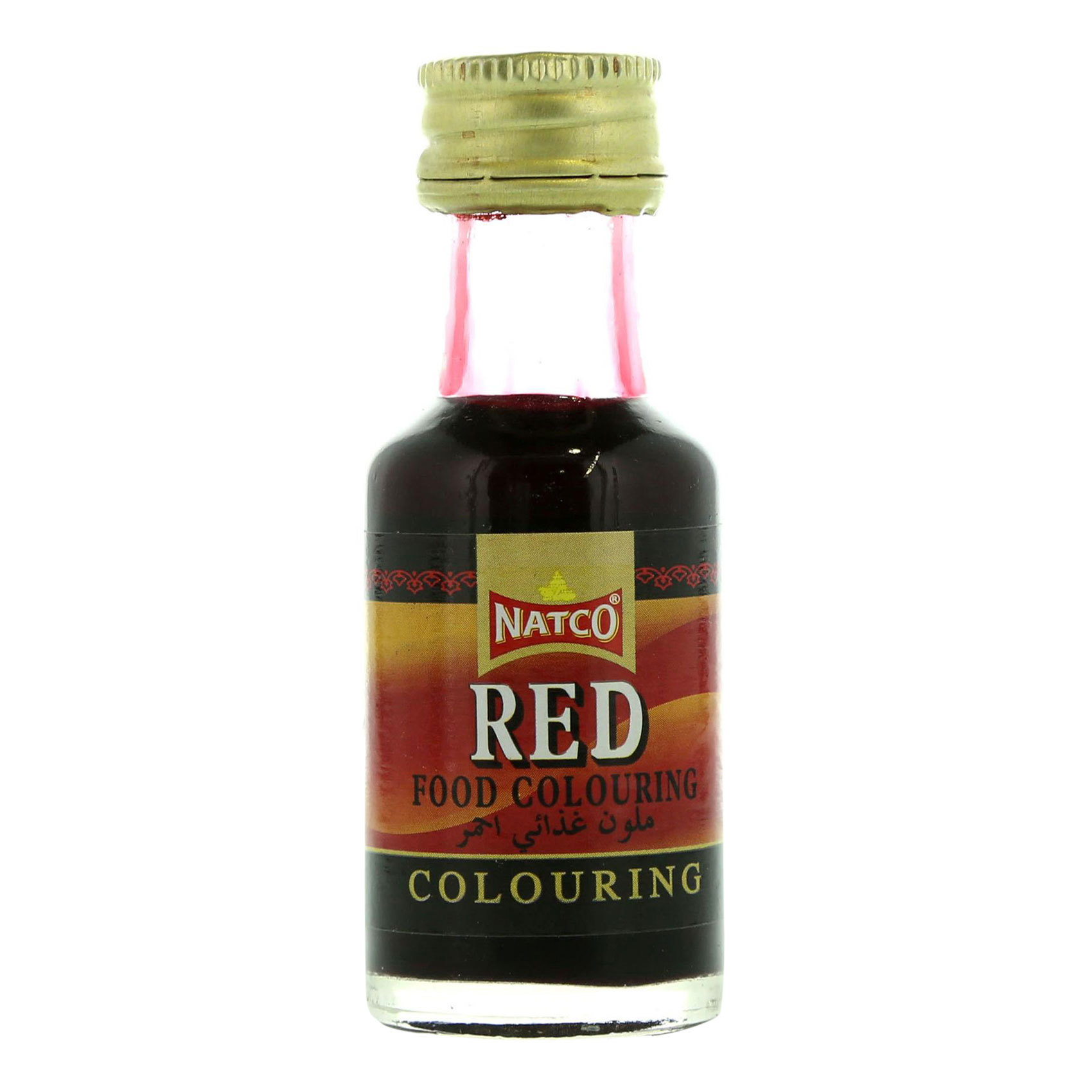 NATCO FOOD COLOUR RED 28ML