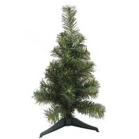 Christmas Tree - Green Pvc Tree 40Cm ,42Tips Plastic Feet