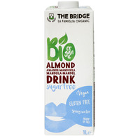 The Bridge Bio Almond Un-Sweetened 1l