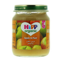 Hipp Organic Apple & Pear 125g