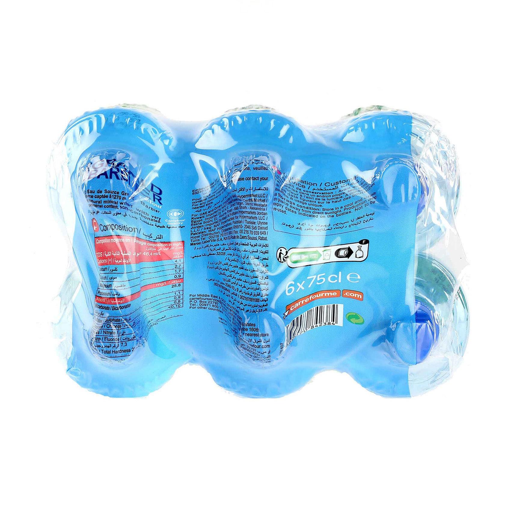 CRF SPRING WATER 750MLX6