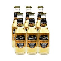 Cedar''s Premium Non-Alcoholic Beer Mexican 250ML X6