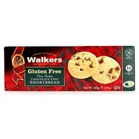 Walkers Gluten Free Pure Butter Chocolate Chip Shortbread 180g