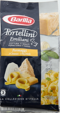 Barilla Tortellini Emiliani Formaggi 250g