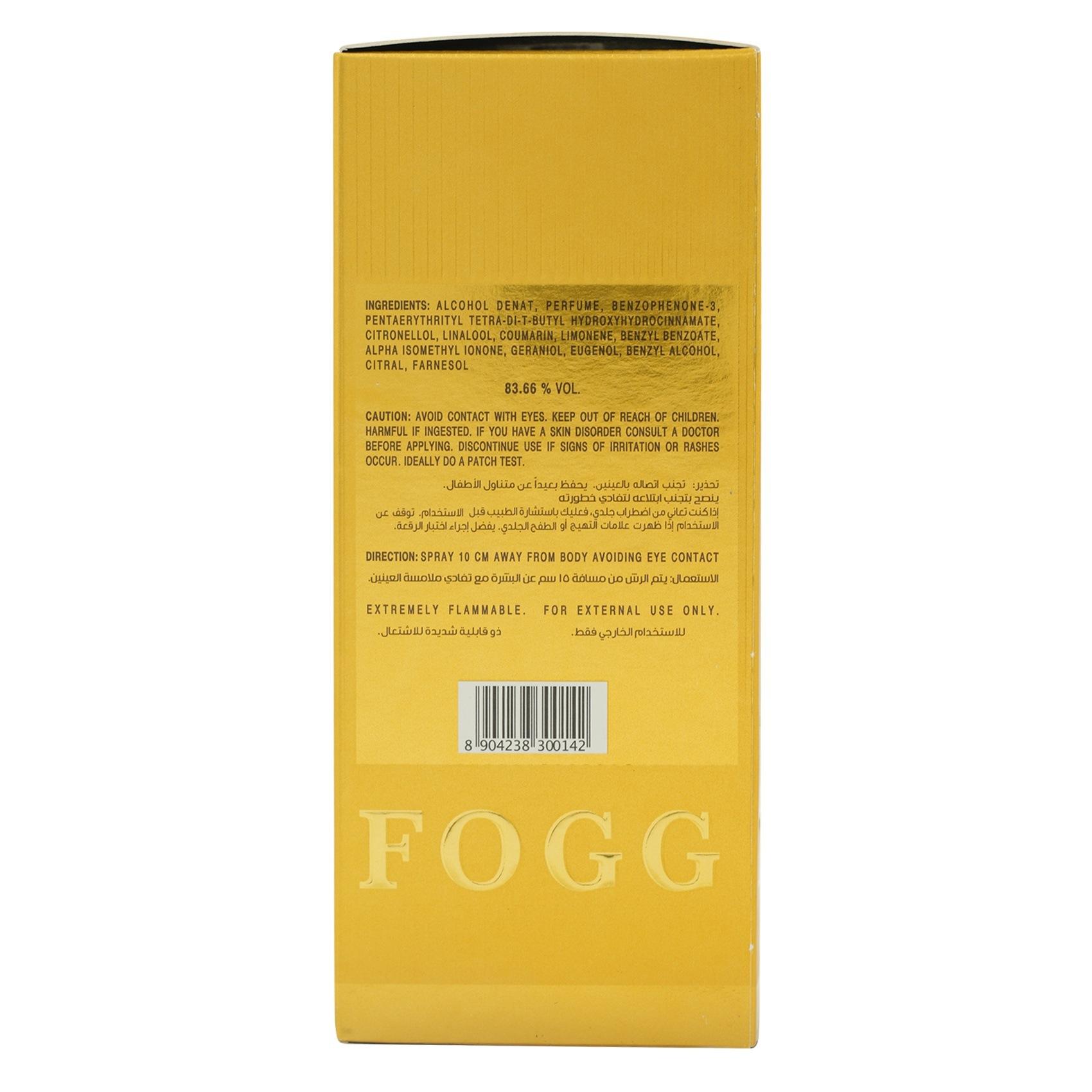 Buy Fogg Scent Eau De Parfum Intense Oud 100ml Online In