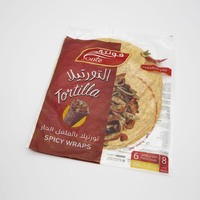 Fonte tortilla spicy wraps bread 6 pieces - 250 g
