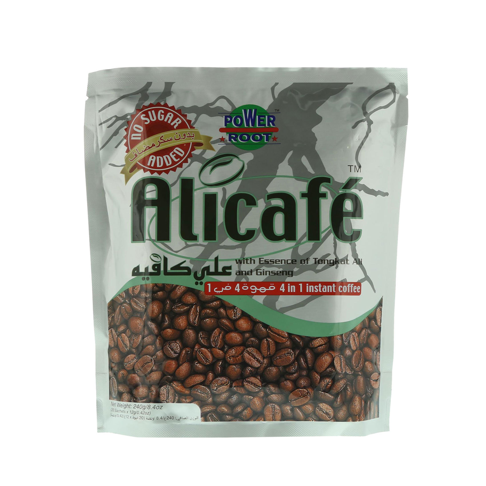 POWER ROOT ALICAFE 4 IN 1 20GX20