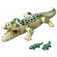 Playmobil City Life Alligator with Babies(Multi-color)