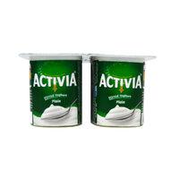 Activia Yoghurt Plain 125gx4