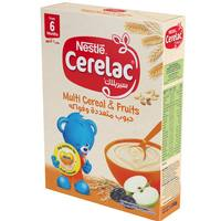 Nestle Cerelac Infant Cereals with Iron+ Multi Cereals & Fruits 240g