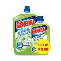 Der General Floor Cleaner Shine 1st Wipe Jasmine 3L +750