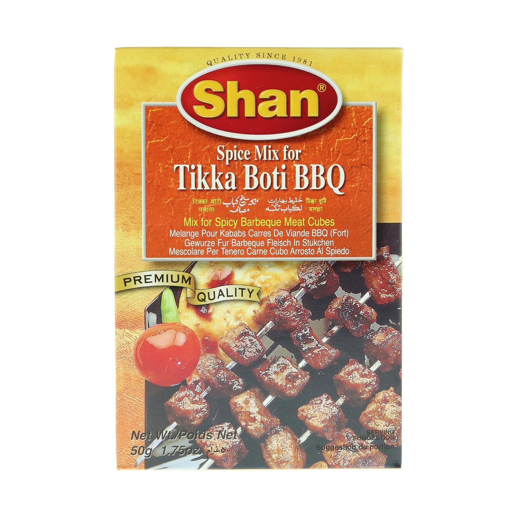 SHAN TIKKA BOTI BBQ MIX 50G