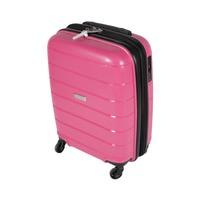 ترافل هاوس حقيبة سفر خامة صلبة من البولي بروبلين مقاس 20 إنش لون زهري