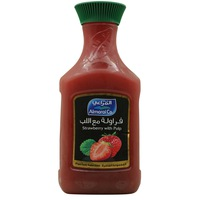 Almarai Co. Strawberry With Pulp Juice 1.5L