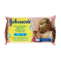 Johnson's Extra Sensitive Baby Wipes 20 Wipes