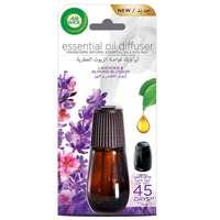 Air Wick Air Freshener Essential Oil Diffuser Refill, Lavender & Almond Blossom 20ml