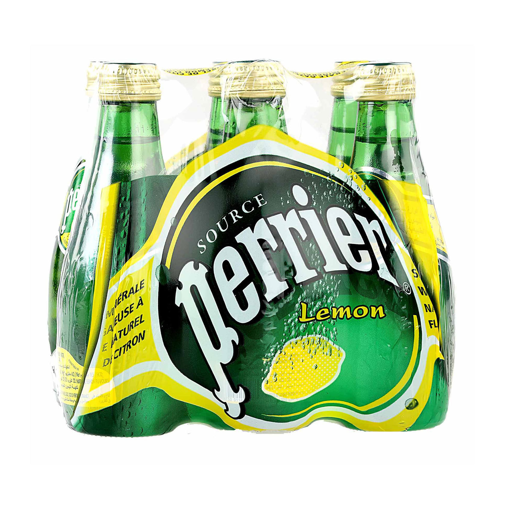 PERRIER WATER LEMON 200MLX6