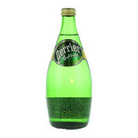 Perrier Natural Sparkling Mineral Water Glass Bottle 750ml