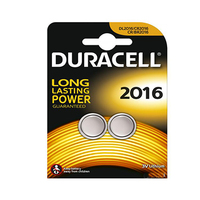 Duracell Long Lasting Power Lithium Batteries 2016 3V 2 Pieces