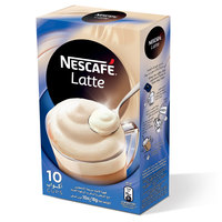 Nescafe Latte  Instant Foaming Mix 18g x10 Sticks