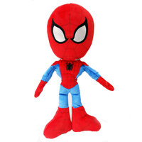 Marvel Plush Spiderman Action Figure 10""