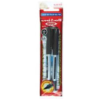 Uniball Eye Micro Roller Pen Black 2Pcs