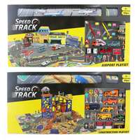 Speed Track Airport /Construction Playset (Assorted)