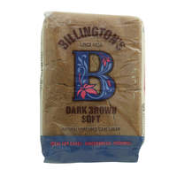 Belington's Dark Brown Soft Natural Unrefined Cane Sugar 500g