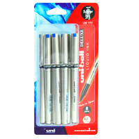 Uni-Ball Deluxe Roller Pen Bls 8Pc