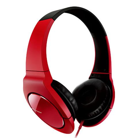Pioneer-Headphone-SE-MJ-721-R-Red