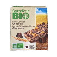 Carrefour Bio Cereal  Bars Chocolate 126GR