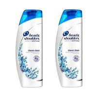 Head & Shoulders Shampoo Classic Clean 600ML X2
