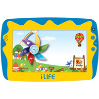 "iLife Tablet Kids Tab  Quad Core 1.2Ghz,512MB RAM,8GB Memory,7"" Blue"