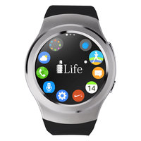 iLife Smart ZED Watch R SIM Calling Silver