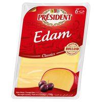 President Edam Slices Cheese 150g